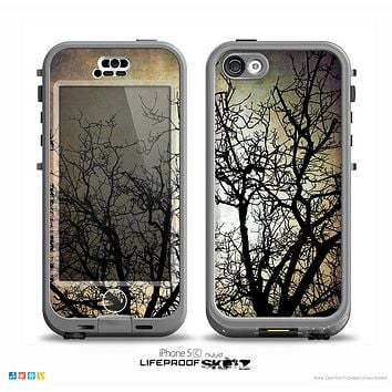 The Dark Branches Bright Sky Skin for the iPhone 5c nüüd LifeProof Case