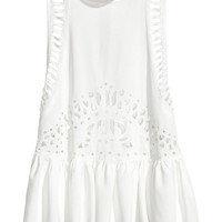 H&M Cutwork Embroidery Top $17.99