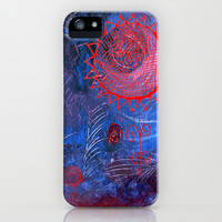 blue night iPhone & iPod Case by Marianna Tankelevich