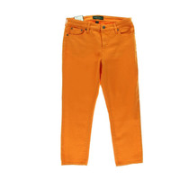 LRL Lauren Jeans Co. Womens Colored Slimming Fit Cropped Jeans