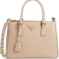Prada Saffiano Lux Leather Satchel | Nordstrom