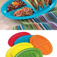 Taco Plates, Divided Taco Server, Upright Tacos, American Made | Solutions
