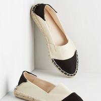 ModCloth Colorblocking Work from Rome Flat