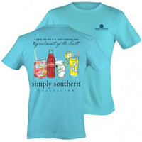 Simply Southern License Refresh T Shirt -- Small
