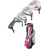 Ray Cook Silver Ray Petite Right Hand Golf Clubs & Cart Bag Set - Women's (Graphite)