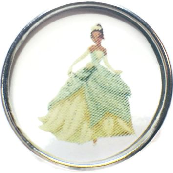 Disney Tiana From The Princess And The Frog 18MM - 20MM Fashion Snap Jewelry Snap Charm