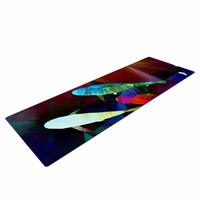 "AlyZen Moonshadow ""FISH 2"" Blue Purple Yoga Mat"