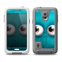 The Teal Fuzzy Wuzzy Samsung Galaxy S5 LifeProof Fre Case Skin Set