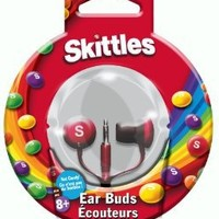 Maxell SKEB-R Skittles In-Ear Ear Buds, Red