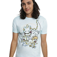 Rugrats Running From Reptar T-Shirt
