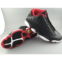 Air Jordan 13 Low black/red Basketball Shoes 36-47