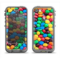 The Colorful Candy Apple iPhone 5c LifeProof Nuud Case Skin Set