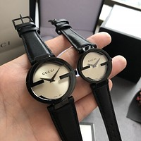 Gucci Hot Vintage Fashion Quartz Classic Watch Round Ladies Women Men wristwatch On Sales Jovia