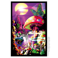 Magic Valley Black Light Poster on Sale for $9.99 at HippieShop.com