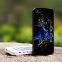 The Transformers Optimus Prime - For iPhone 4,4S Black Case Cover