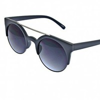 KNOWN TO ROCK SINCE 66 ASH GREY SUNGLASSES