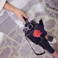 Rose Print Mini Handbag