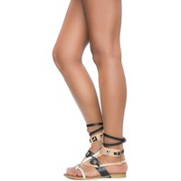 Cape Robbin Emily-63 Women's Black Sandals