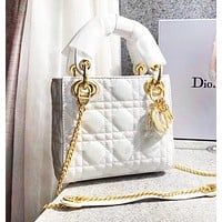 DIOR Trending Women Stylish Multicolor Leather Handbag Crossbody Satchel Bag