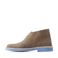 Desert Boot-Women in Taupe Distressed / Blue Crepe - Womens Boots from Clarks