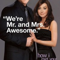 (11x17) How I Met Your Mother - Lily and Marshall Mr and Mrs Awesome TV Poster
