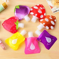 1pc Lovely Travel portable Mini hand sanitizer/Shampoo/Makeup fluid bottle Bathroom products packaging bottles