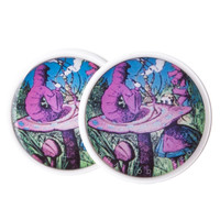 Alice in Wonderland Caterpillar Hookah BMA Modified Plugs (2.5mm-60mm)