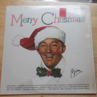 Vintage Vinyl Record Bing Crosby Merry Christmas - White Christmas - Silver Bells and More!