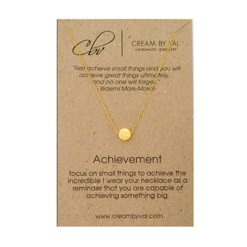 Achievement Necklace