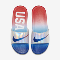 The Nike Benassi Solarsoft Men's Slide.