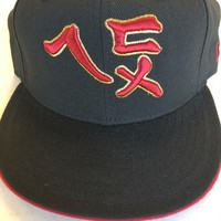 RETRO SAN FRANCISCO 49ERS CHINESE SCRIPT NEW ERA FITTED HAT SHIPPING