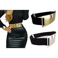 Hot Designer Belts for Woman Gold Silver Brand Belt Classy Elastic ceinture femme 3 color belt ladies Apparel Accessory