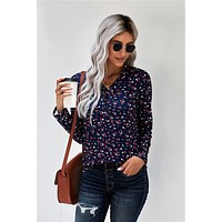 All Over Floral Blouse
