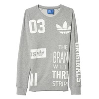 Boys & Men Adidas Fashion Casual Top Sweater Pullover