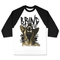 Bring Me The Horizon Alsatian Men's Baseball T-Shirt