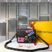 LV Louis Vuitton Women M43991 POCHETTE METIS Bag 2019 New