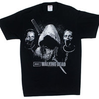 Michonne With Zombie Heads - Walking Dead T-shirt - MyTeeSpot - Your T-shirt Store