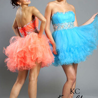 Kari Chang YL1407 Homecoming Cocktail Dress