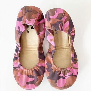 New! PREORDER The Storehouse Flats in Bubblegum Camo