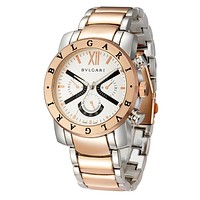 Perfect Bvlgari Ladies Men Fashion Quartz Watches Wrist Watch