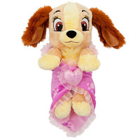 Disney's Babies Lady Plush and Blanket - Small - 10''