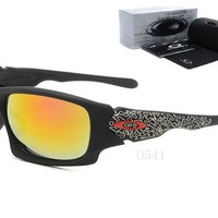 OKEY AA Sports Sunglasses for men women Baseball Running Cycling Fishing Golf Tr90 Durable Frame [2974244798]