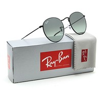 Ray-Ban RB3447N Round Flat Lenses Gradient Sunglasses Black 00271 - 50mm