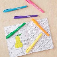 Scented Coloring Markers Set