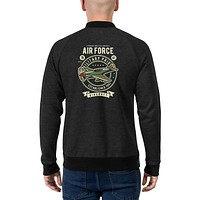 Vintage Retro Streetwear Bomber Jackets for Men Classic Air Forces Fashion Jacket