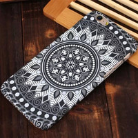 Floral Pattern Noctilucent Phone Case Cover of 8 Patterns for iPhone 6S & iPhone 6S Plus