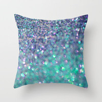 Ocean Sparkles Throw Pillow by jlbrady213 & KBY | Society6