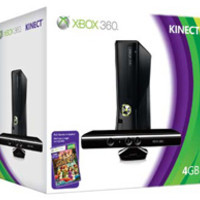 Xbox 360 4GB Console with Kinect Holiday Bundle