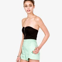 Zippered Bustier | FOREVER 21 - 2017842831