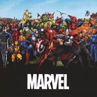 Marvel Comics Heroes and Villains Poster 22x34